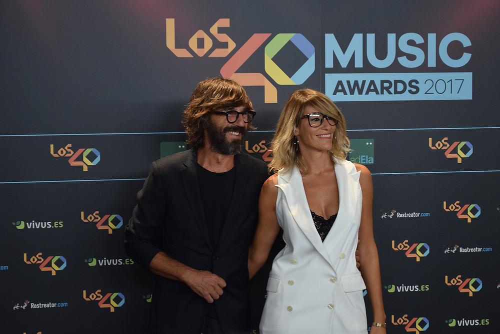 Santi Millán y Rosa Olucha. / Fuente: BERTA JIMÉNEZ