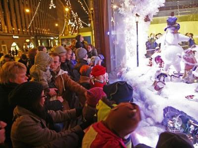 Escaparate de la tienda Stockmann. Foto: www.visitfinlandia.com