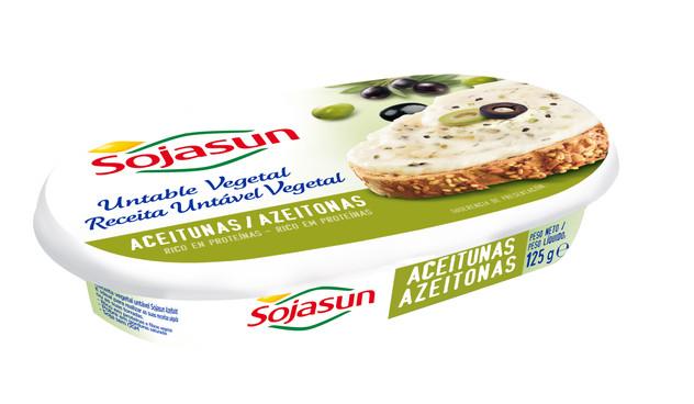 Los primeros untables ligeros y 100 vegetales de Sojasun, con los que no solo conseguir los beneficios de las aceituna, sino también de la soja (125gr/1,79€)