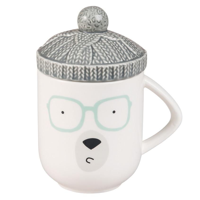 Taza con sombrero de oso (5,99€)
