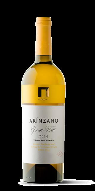 Gran Vino 2014 blanco de Bodega Arínzano (69,00€)