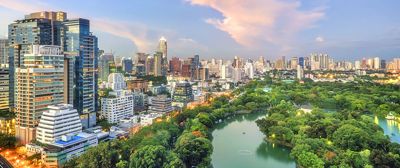 Parque Lumphini. Fuente: Asia Web Direct
