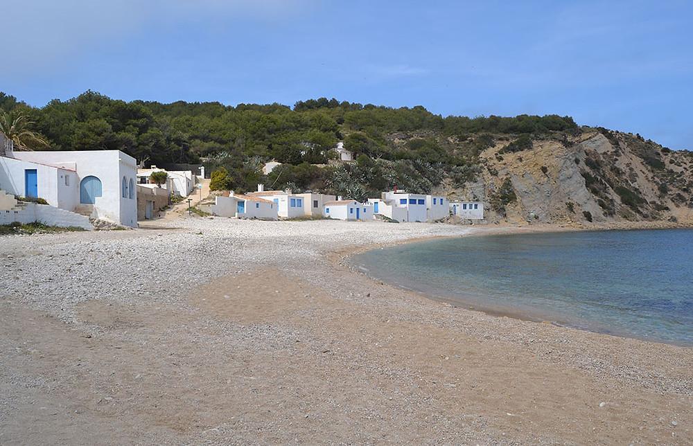 Cala Barraca. Fuente: www.javea.com