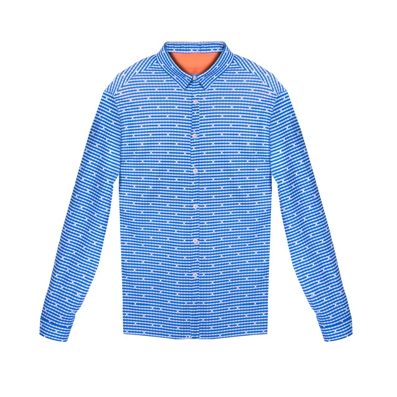 No se mancha, no huele, no se arruga, ¡es la camisa perfecta! En diferentes colores y estampados. Una marca de indumentaria inteligente producida en España de manera sostenible (79-84€)