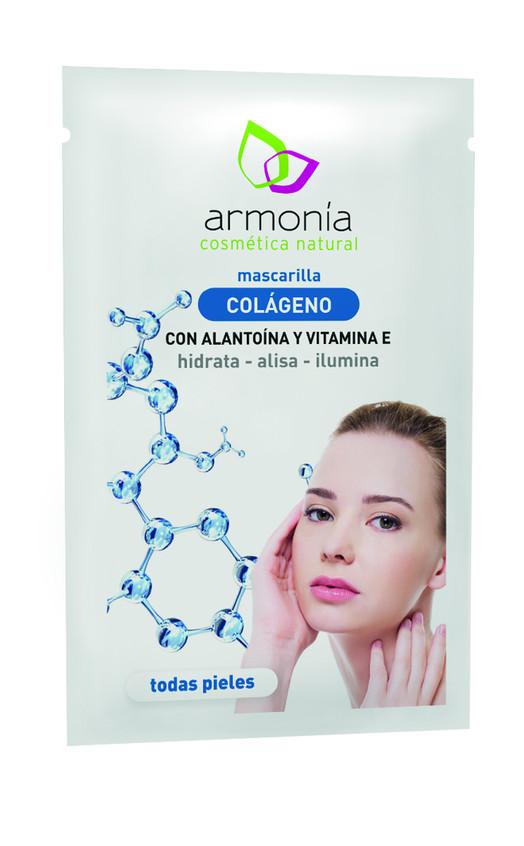 Mascarilla Colágeno con alantoía y vitamina E que hidrata, alisa e ilumina (1,70€)