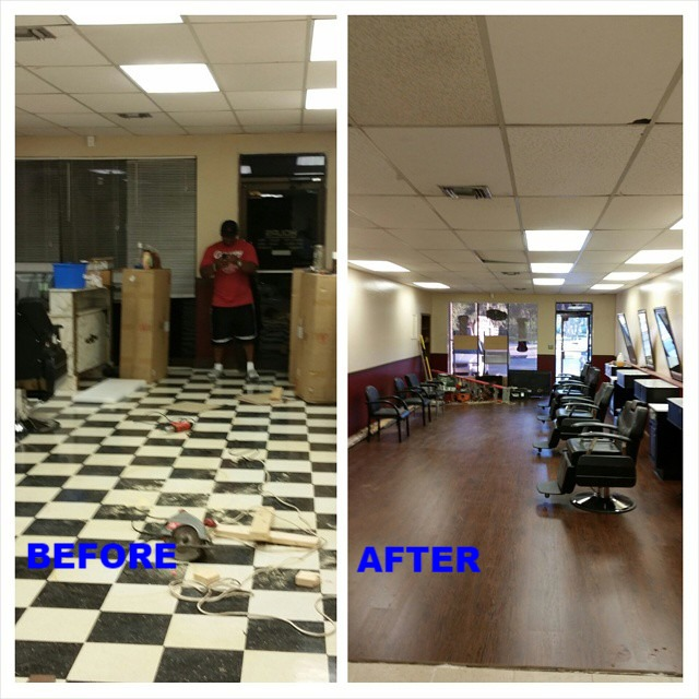 Remodeled Barbershop