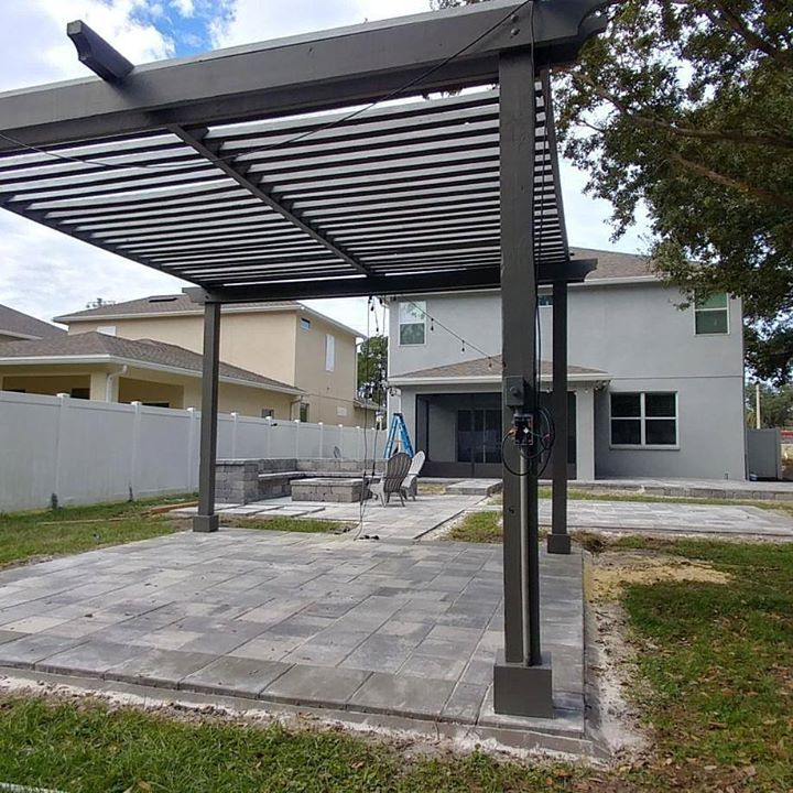 Custom Pergola in Tampa