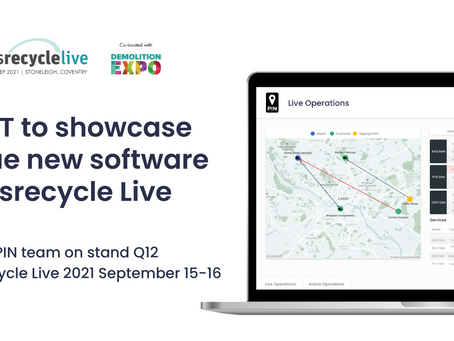 PIN IoT to showcase unique new software at Letsrecycle Live