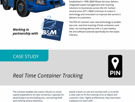 Real Time Container Tracking Improves Operations for B&M