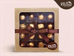 Chocolate Meio Amargo com Granola