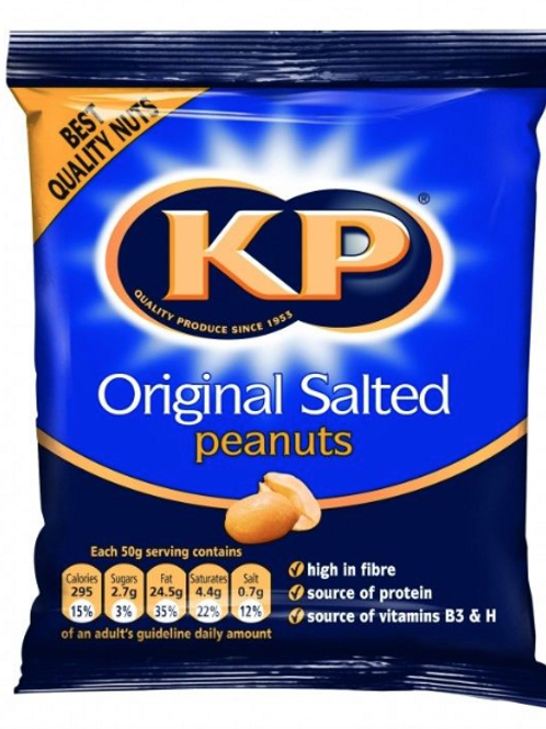 KP Salted Nuts 50g