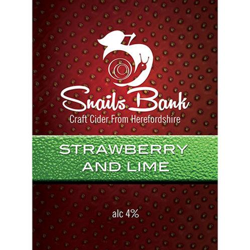 Snailsbank   Strawberry & Lime (2 Pints)