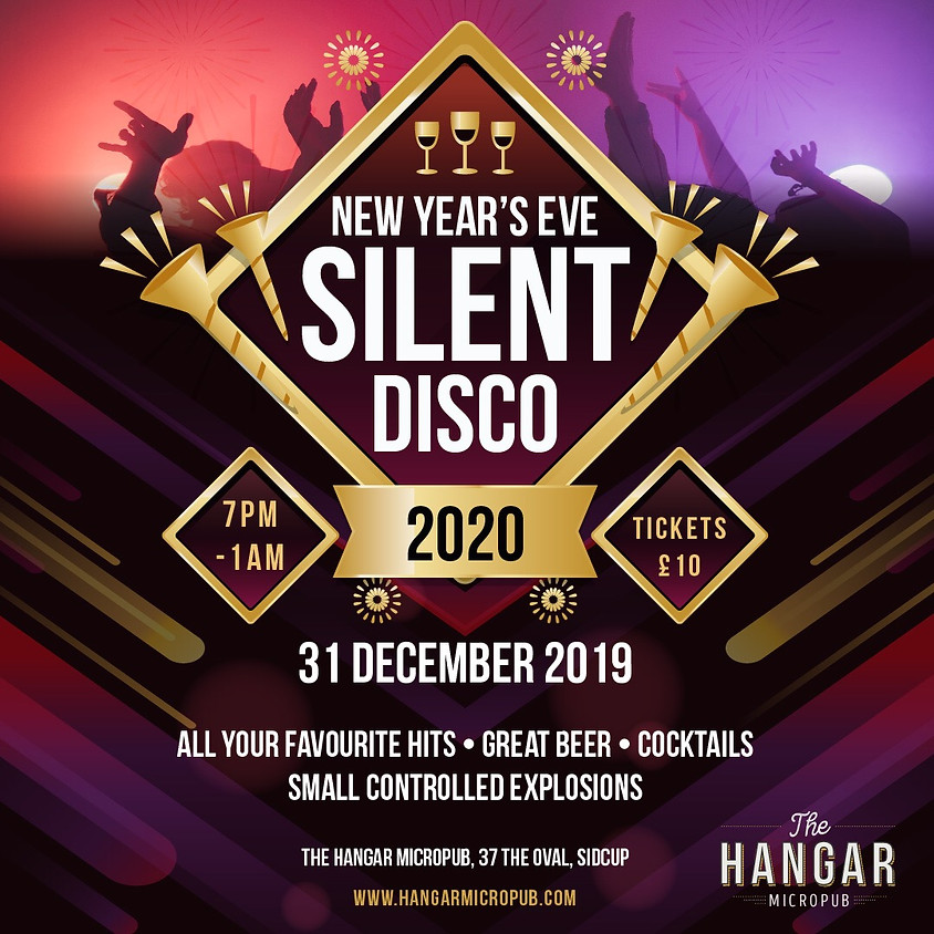 New Years Eve Silent Disco