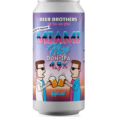 Beer Brothers | Miami Nice 4.9% (440ml)