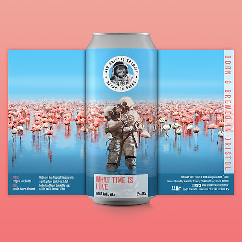 New Bristol | What Time Is Love Pale 6.0% (440ml)