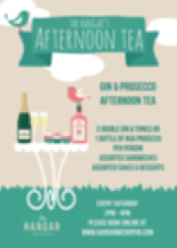 Gin & Prosecco Afternoon Tea A3 - Dec 20