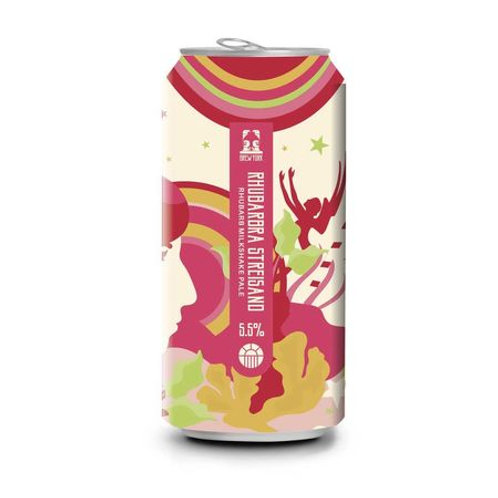 Brew York   Rhubarbra Streisand 5.5% Milkshake IPA (440ml)