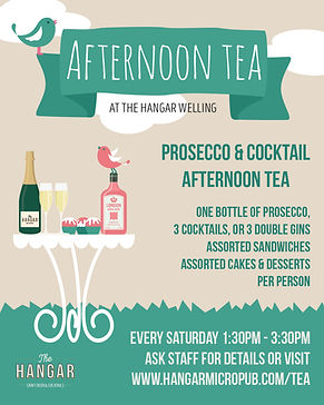 Gin & Prosecco Afternoon Tea Welling - M