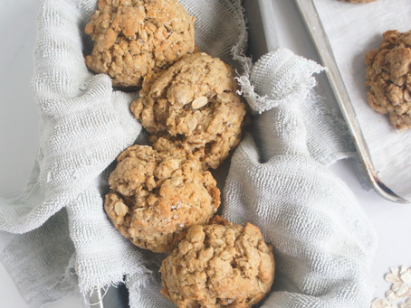 Salted Maple Tahini Cookies