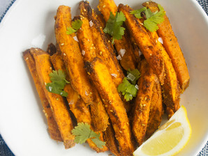Spicy Curried Sweet Potato Fries