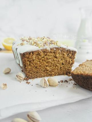 Pistachio Honey Lemon Loaf