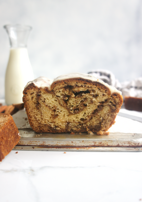 Brown Butter Cinnamon Swirl Bread