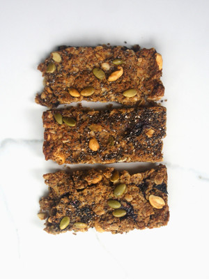 Blueberry Nut Bars