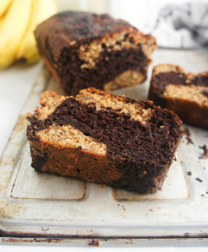 Marble Banana Bread