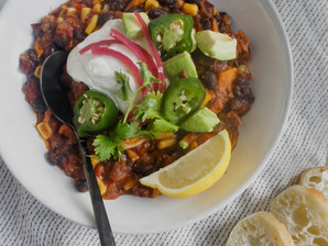 Vegetable Vegetarian Chili