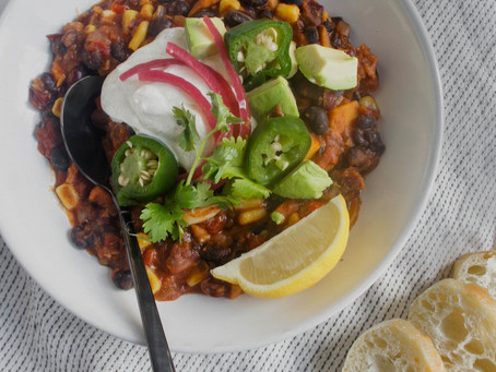Vegetable Vegetarian Chili