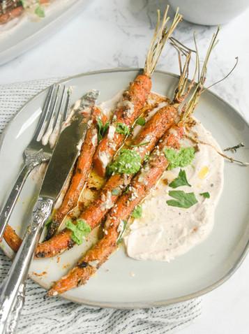 Loaded Za'atar Carrots