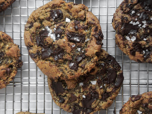 Olive Oil Chocolate Chip Almond Cookies