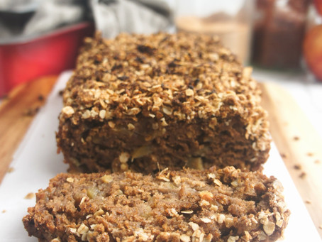 Healthy-ish Apple Spice Loaf Cake