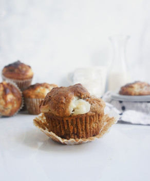 Carrot Cake Cream Cheese Muffins