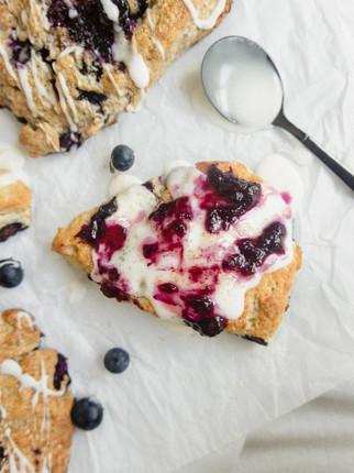 Blueberry (Jam) Scones