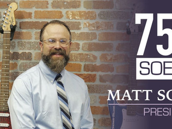 75 Year Anniversary - Matt Soep Profile