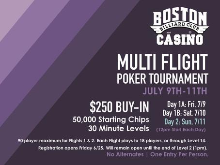 Multi Flight Tournament - July 9-11, 2021
