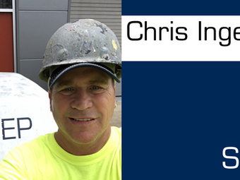Meet Our Team! Chris Ingelsby: Foreman