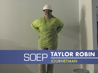 Meet Our Team! Taylor Robin: Journeyman