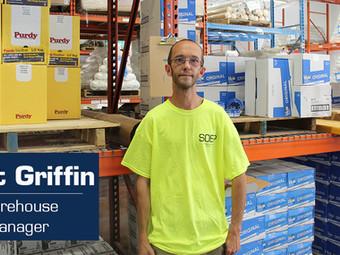 Meet Our Team! Matt Griffin: Warehouse Manager