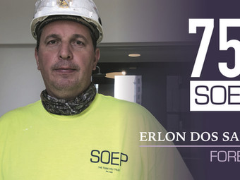 Meet our Team! Erlon Dos Santos: Foreman