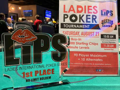 Ladies in Poker Series Tourney Update