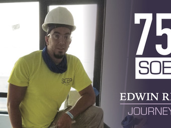 Meet our Team! Edwin Reyes - Journeyman