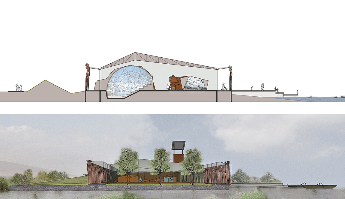 architect for visitor centre
