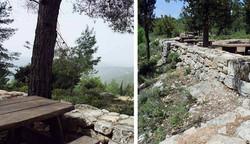 טרסות אבן ביער ירושלים, אדריכל