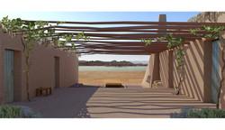mud architecture, בניה מדברית