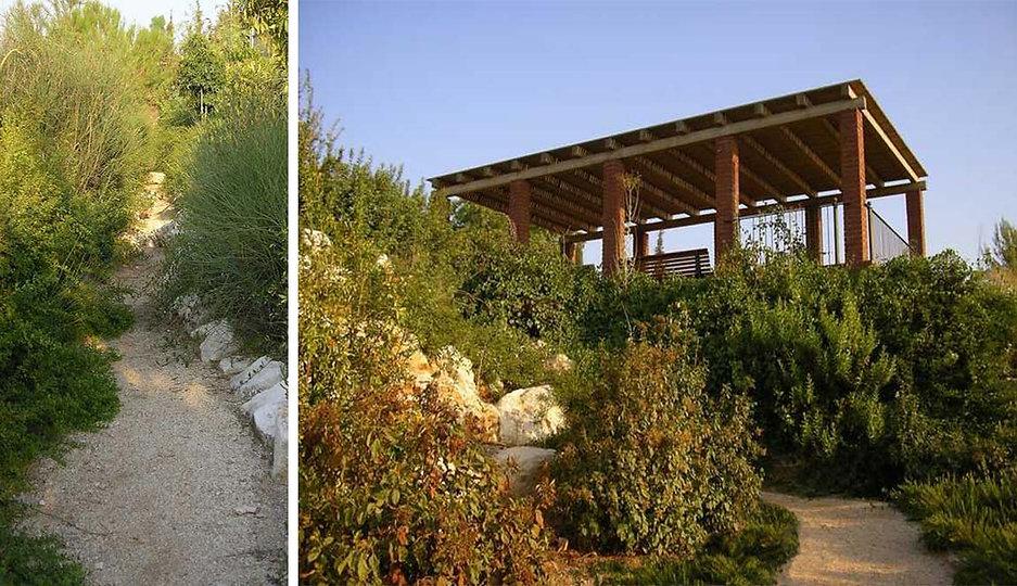 Golany Architects_Public garden in Rosh