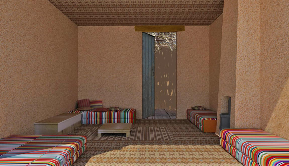 אדריכלות מדברית, בניה בבוץ