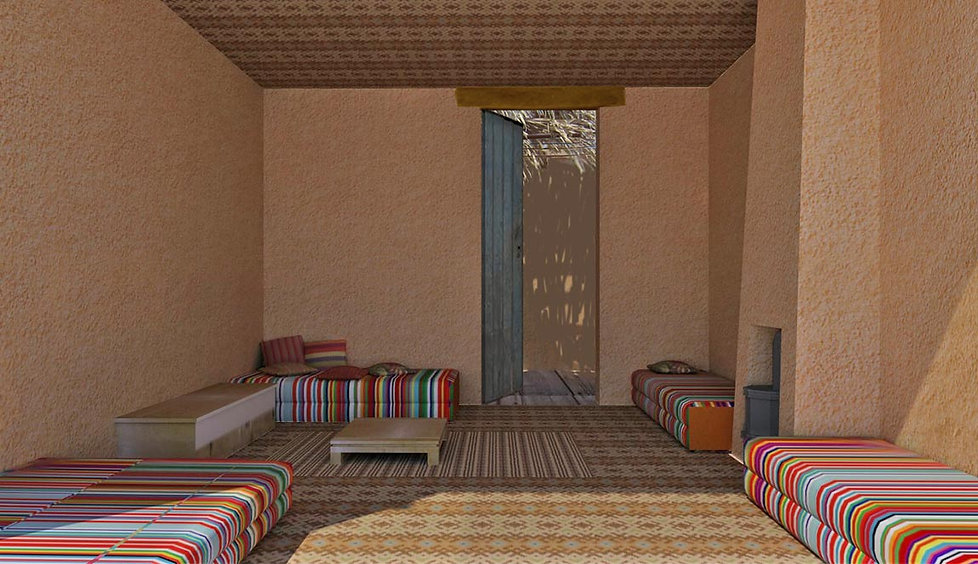 Golany Architects_Desert Accommodation,