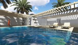 golany architects, swimming pool